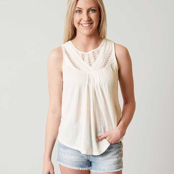 LUCKY BRAND PIECED TANK TOP