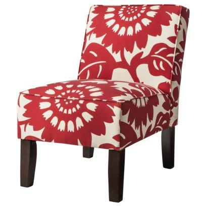 Armless Upholstered Accent Slipper Chair From Target