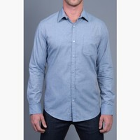 {Modern English} Chambray Dress Shirt in Soulful Blue