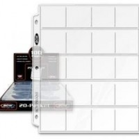 BCW Pro 20-Pocket Page (100 Ct. Box) - Coin Storage - Collecting Supplies