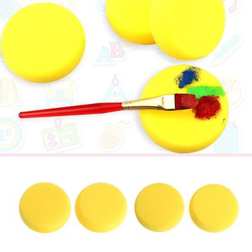 Round Painting Sponge For Art Drawing Craft Clay Pottery Sculpture Cleaning Tool Painting Tool