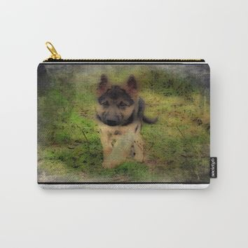shep Carry-All Pouch by Jessica Ivy