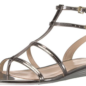 Cole Haan Women's Original Grand Gladiator Sandal Pewter Metallic 7.5 B(M) US '