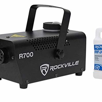 Rockville R700 Fog/Smoke Machine w/Remote Quick Heatup, Thick Fog!