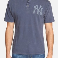 Men's Red Jacket 'New York Yankees - Luther' Henley,