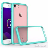 For Apple iPhone 8 Case, Easy Grip Slim Armor Bumper Case for iPhone 8 - Teal