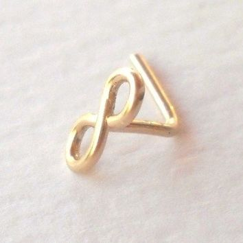 14K Gold Filled Infinity Nose Ring G20