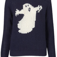 **Ghost Handknit Sweater by J.W. Anderson for Topshop - J.W. Anderson  - Designers