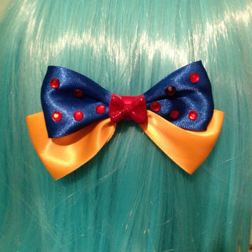 Disney Snow White Inspired Hair Bow