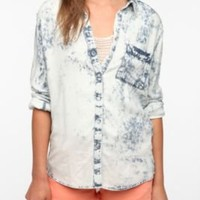 UrbanOutfitters.com > byCORPUS Acid Wash Button-Down Shirt