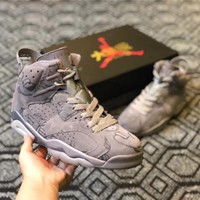 "Air Jordan 6 Retro ""KAWS x Graffiti"" Sneaker Shoe"