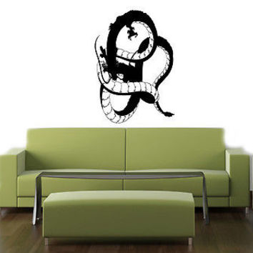 ANIME DRAGON ANIMAL  JAPANESE STYLE WALL VINYL  STICKER DECAL ART MURAL D1869