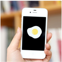 Fried Egg and Fish Cellphone Screen Cleaner