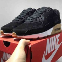 NIKE AIR MAX 90 2018 trend classic fashion running shoes F-CSXY black