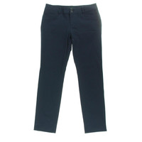 Lauren Ralph Lauren Womens Twill Stretch Cigarette Pants