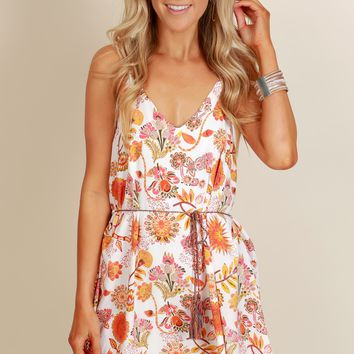 Be Floral With Me Dress Ivory