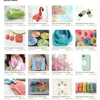 Spring Pastels by Mandee on Etsy