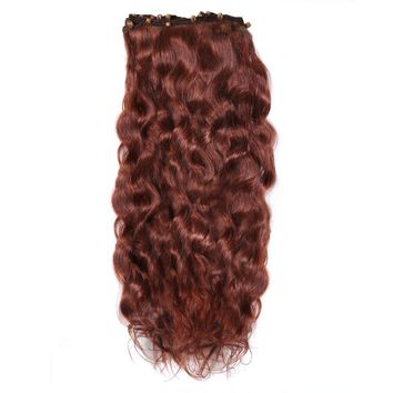 Wavy Beaded Weft Extensions