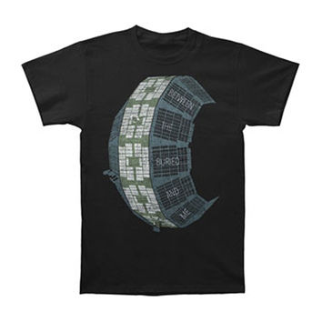 Between The Buried And Me Men's  Madness Wheel T-shirt Black