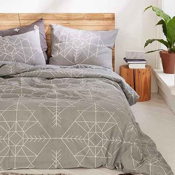 Magical Thinking Archery Arrows Duvet Cover