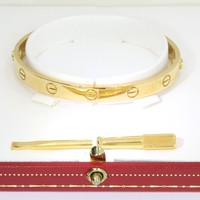 Cartier Gold Love Bangle 18ct yellow gold
