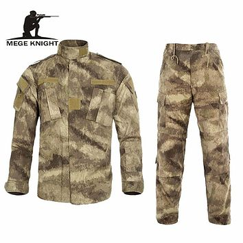 Multicam Military Uniform Camouflage Suit Tatico Tactical Military Camouflage Airsoft Paintball Equipment Clothes