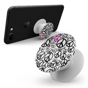 Peace Collage - Smartphone Extendable Grip & Stand Skin Kit