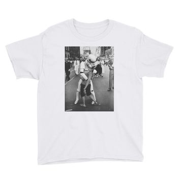 Stormtrooper Kiss Youth Short Sleeve T-Shirt