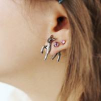 Korean Lovely Animal Earring Earrings [6048772929]