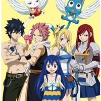 Anime Fairy Tail - High Grade Laminated Poster