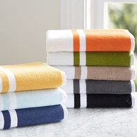 TINSLEY ORGANIC BATH TOWELS
