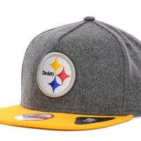 Pittsburgh Steelers NFL Classic Melt A-Frame 9FIFTY Strapback Cap