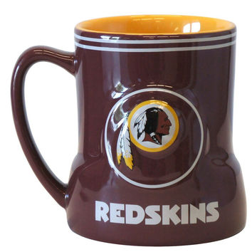 Washington Redskins 18oz Game Time Coffee Mug