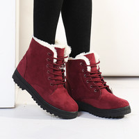Botas femininas 2015 new arrival women boot warm snow boots fashion platform boots women fashion ankle boots for women shoes