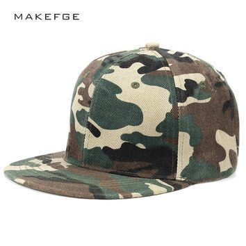 Trendy Winter Jacket high quality Camo Snapback Hats Snapbacks Straight Flap Baseball Cap Outdoor Brand Army Camouflage Hat   Men Women Hip Hop Cap AT_92_12