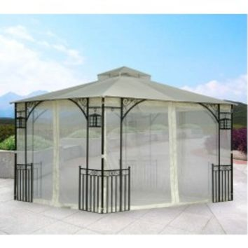 Sunjoy CTC Ashdale Gazebo Replacement Canopy Fabric