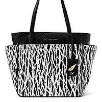DVF On The Go Printed Coated Canvas Tote