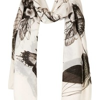 Topshop Insect Print Scarf | Nordstrom