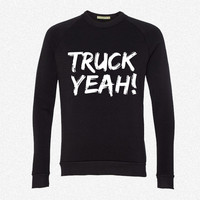 Truck Yeah fleece crewneck sweatshirt