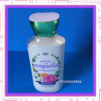 Bath Body Works Sweet Magnolia Clementine Lotion