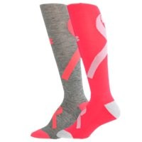 Under Armour Women's UA Power In Pink Knee Socks
