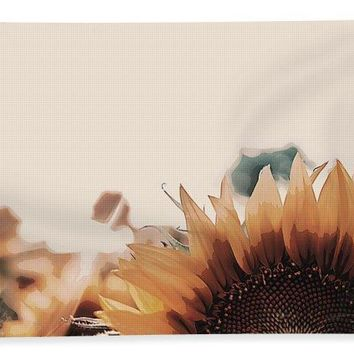 Wildlife Series - Sunflowers - Beach Towel