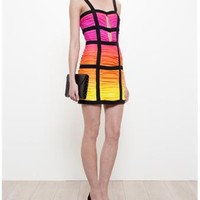 BALMAIN | Silk Degrade Sunset Dress | Browns fashion & designer clothes & clothing