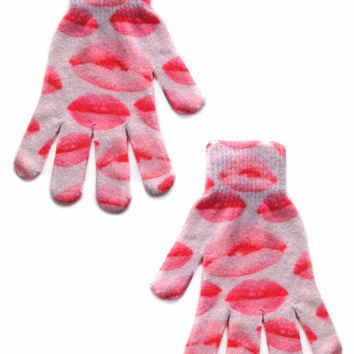 Lips Gloves