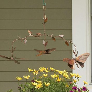 Butterfly Branch Hanging Mobile