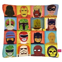 Heroes and Villains Cushion | LA LA LAND