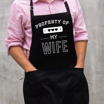 Property of My Wife Apron