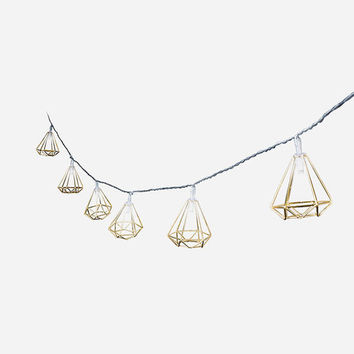 Geometric Frame String Lights