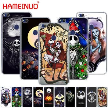 HAMEINUO Nightmare Before Christmas alloween Cover phone Case for huawei Ascend P7 P8 P9 P10 P20 lite plus pro G9 G8 G7 2017