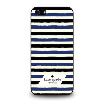 KATE SPADE IN STRIPES iPhone 5 / 5S / SE Case Cover